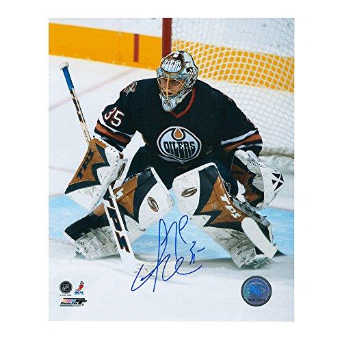 Dwayne Roloson Edmonton Oilers 8 x 10 Autographed Photo -