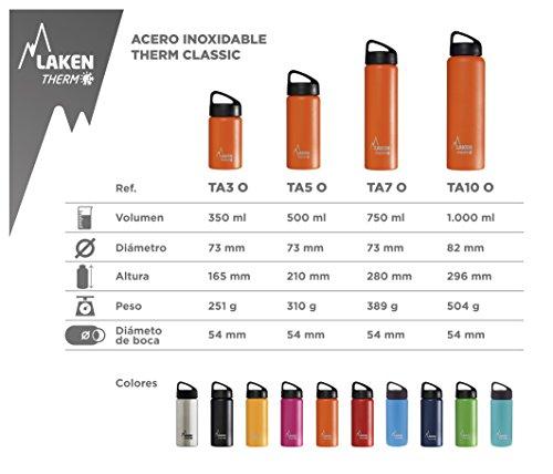 Laken Thermo-Flasche Classic Thermo 0,5l TA5 Orange