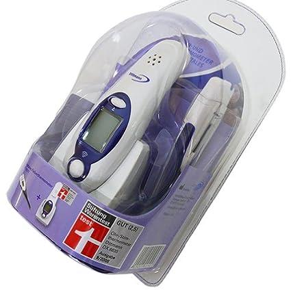 Dittmann - Juego de dos termómetros (un termómetro digital para oído y termómetro convencional)