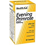 Healthaid Evening Primrose Oil 1000 mg With Vitamin E - 60 Capsules