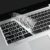 "i-Buy Français Clavier Coque de Protection / Couverture AZERTY pour MacBook Air 13"" Pro 13"" 15"" 17"" - Transparent / Clair"