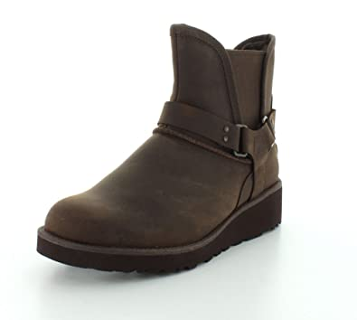 UGG Women's Glen Chocolate Leather Boot 5 B ...