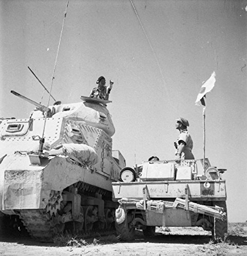 the-british-army-in-north-africa-1942-grant-hq-tank-and-daimler-scout-car-libya-june-1942
