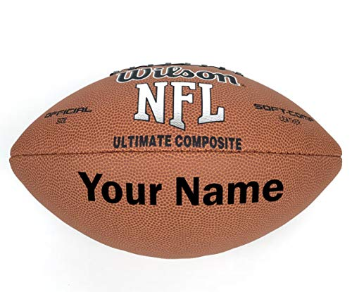 Personalized Football - Wilson Customized Personalized Football Official Size