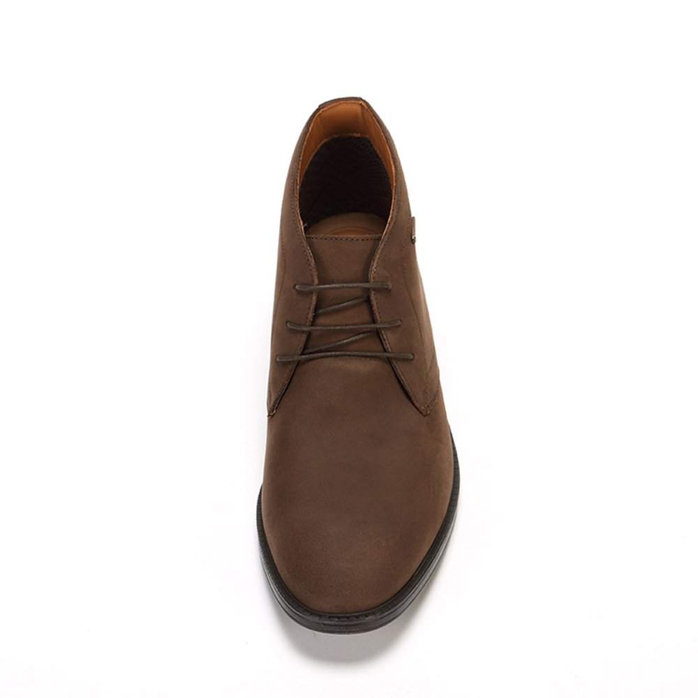 4060156319673 Clarks Men's Chilver Hi GTX Ankle Boots Brown (Dark Brown Nub) 10 UK: Buy  Online at Low Prices in India - Amazon.in