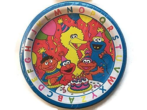Sesame Street ABC Birthday Party Pack Set of 4