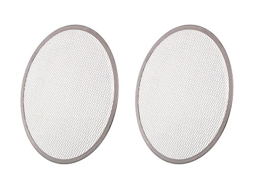 Set of 2 Update International (PS-14) 14'' Pizza Screen bundled by Maven Gifts by UI