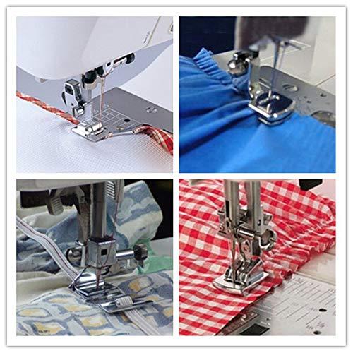 - Eagles Sew Machines Kit Fold Hem Presser Foot Feet Kit for Sewing Machine Home Tool 5pcs