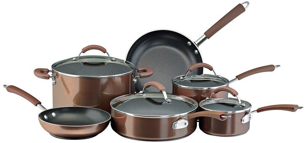 Farberware Millennium Stainless Steel Nonstick 10-Piece Cookware Set Meyer Corporation 75655