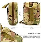 Yuan Ou Trousse de Secours Pet First Aid Kit Survival Kit Military Dog Emergency Set Bag Medicine Organizer 7