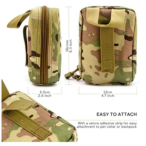 Yuan Ou Trousse de Secours Pet First Aid Kit Survival Kit Military Dog Emergency Set Bag Medicine Organizer 2