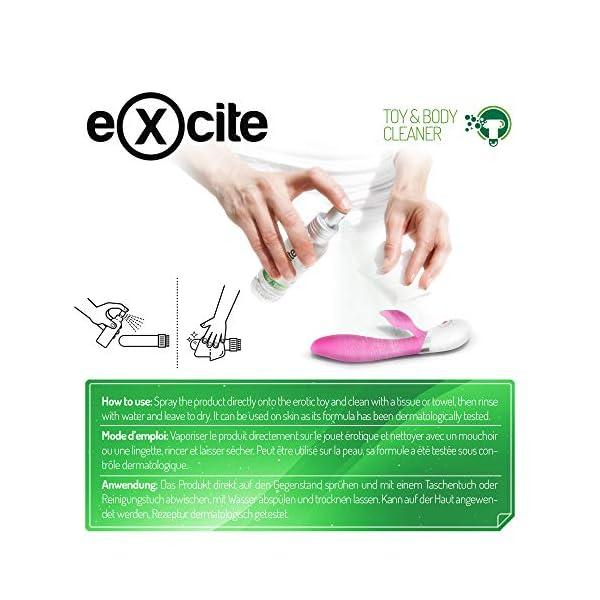 EXCITE Limpiador desinfectante de accesorios íntimos y copa menstrual. Antibacteriano y antiséptico con Aceite de Árbol de Té. Sin alcohol ni sulfatos. 100ml 12