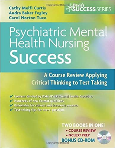 Psychiatric Mental Health Nursing Success A Course Review Applying
