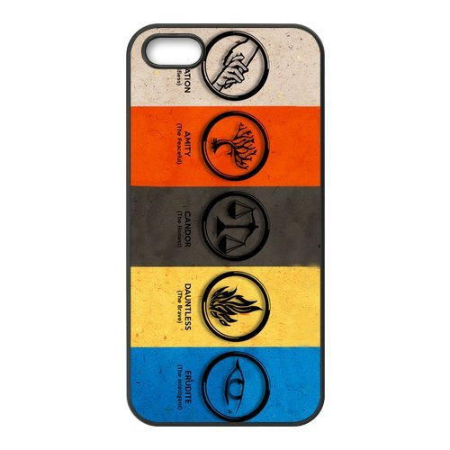 Fashion Divergent Dauntless Personalized iPhone 5 5S Rubber Silicone Case Cover