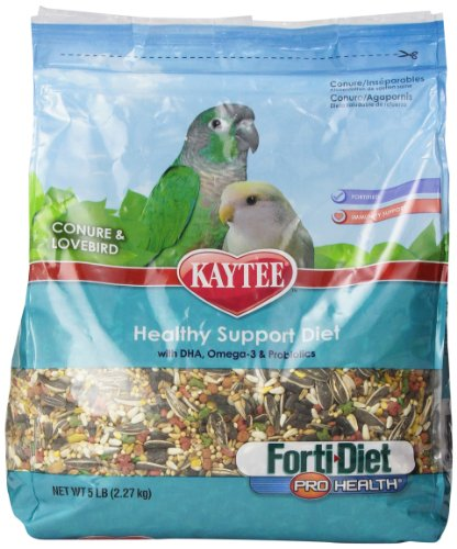 Kaytee Forti Diet Pro Health Bird Food for Conure and Lovebi