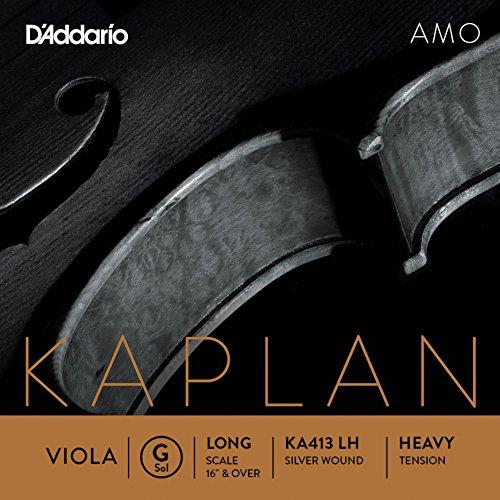 D'Addario KA413 LH Kaplan Amo Viola G String by D'Addario Woodwinds