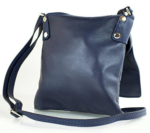 al azul Azul mujer hombro kleine Bolso para Milenastely aPxUw5qH