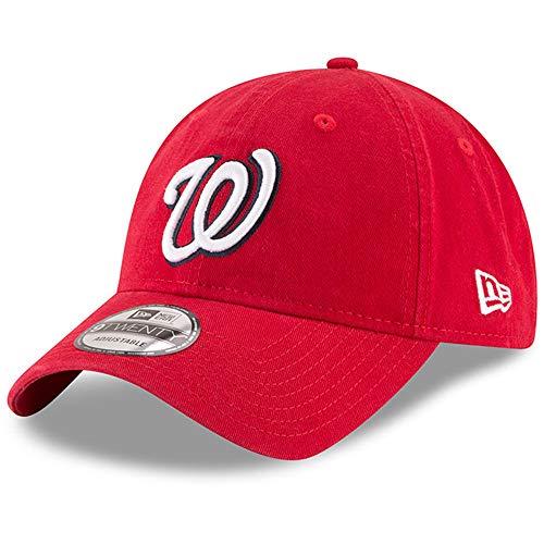 New Era Replica Core Classic Twill 9TWENTY Adjustable Hat Cap (Washington Nationals (Red))
