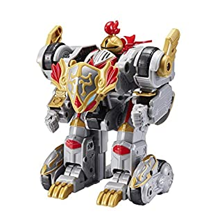 MONKART, Youngtoys Mini Monster Transforming Robot from Shooting Car with Sword Animation Character (Megaroid Lancelot)