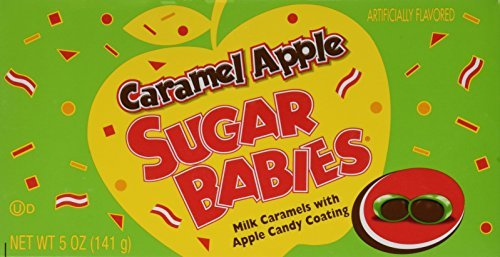 Sugar Babies Caramel Apple (5 oz Boxes) 3 Pack by Tootsie -