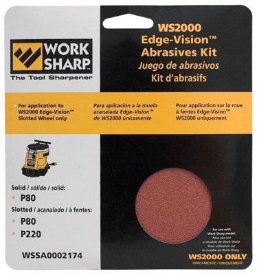 Work Sharp Replacement Abrasive Kit for Work Sharp 2000, Model# WSSA002174 -