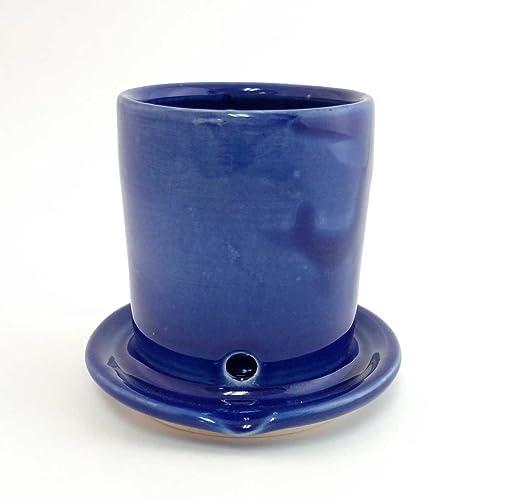 Amazon.com: Kitchen Sink Sponge and Scrubber holder - Cobalt Blue ...