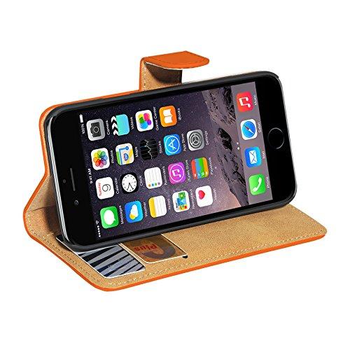 PEDEA Tasche für Apple iPhone 6 orange