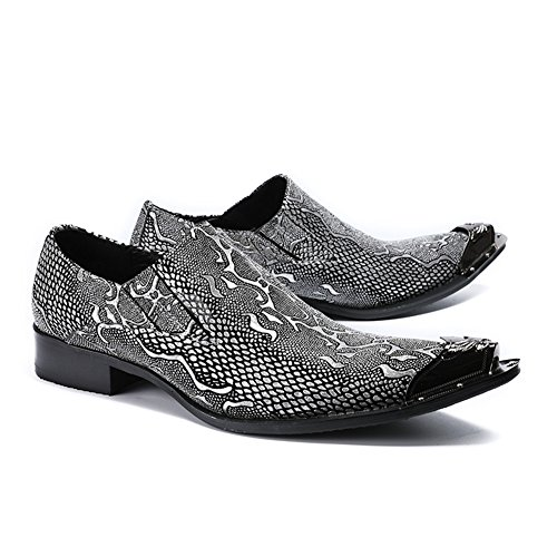 Oxfords Evening HUAN Temperament Hairstylist 2018 Leather A Shoes New Tide Shoes Stage amp; Wedding Party Men's Fashion q7Bq6xnHF