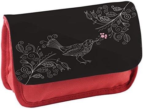 Jaulas de Pájaros 10003, Rojo Escuela Niños Sublimación Alta calidad Poliéster Estuche de lápices con Diseño Colorido. 21x13 cm.: Amazon.es: Oficina y papelería