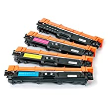 SaveOnMany ® Value (4) Pack Brother TN221/TN225 (TN221BK+TN225CMY) High Yield BK/C/M/Y 1*Black, 1*Cyan, 1*Magenta, 1*Yellow New Compatible Laser Toner Cartridges Combo Set For Brother DCP-9020CDN HL-3140CW HL-3150CDN HL-3170CDW HL-3180CDW MFC-9130CW MFC-9330CDW MFC-9340CDW ~ Canadian Company