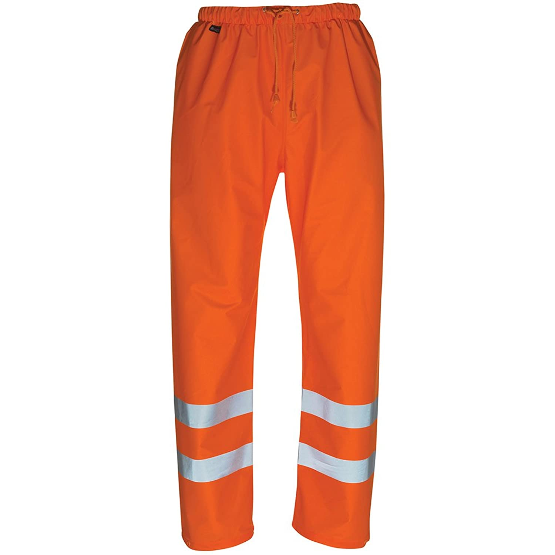 MASCOT SAFE AQUA Warnschutzhose Arbeitshose Wolfsberg, Warnschutz nach EN 471 - Kl. 1/2