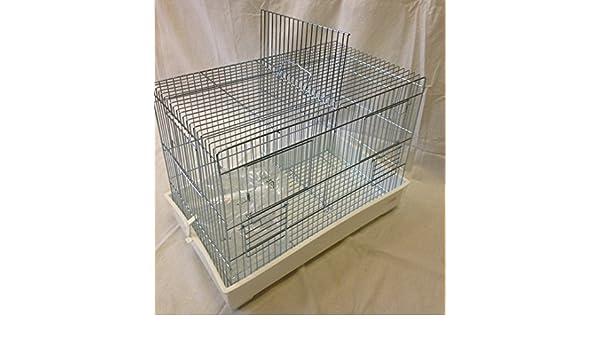 Cova - jaula Cova (Metal cromado para canarios en tres tamaños ...