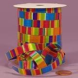 Striped Curling Ribbon, 3/8'' X 250Yd