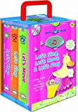 Mother Goose 3 Pack: Let's Play, Let's Sing, Let's Move (Storybook Sets) (Padded board books with audio CD and carrying case)