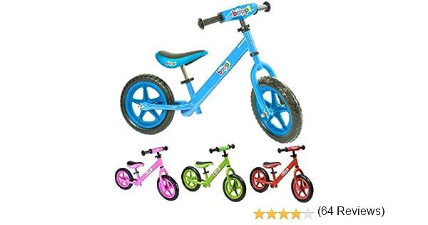 boppi® Bicicleta sin Pedales de Metal para niños de 2-5 años - Azul: Amazon.es: Deportes y aire libre