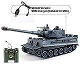 EAHUMM 1:28 RC WW2 German Tiger Army Tank Toys,9