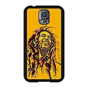 Bob Marley Fashion Colorful funda? for Samsung Galaxy S5,Legend Reggae Musician OM Bob Marley Cover Skin