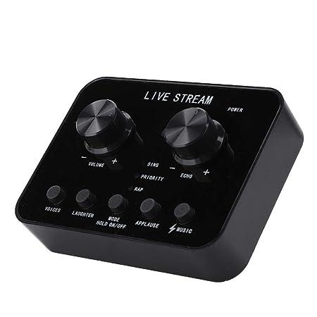 QLPP Mezclador de Audio Multifuncional Diyeeni con Efecto de ...