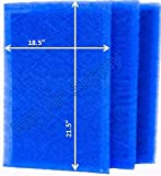 RAYAIR SUPPLY 20x24 Dynamic Air Cleaner Replacement Filter Pads 20X24 Refills (3 Pack)