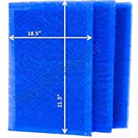 Air Ranger Replacement Filter Pads 20X24 (3 Pack)