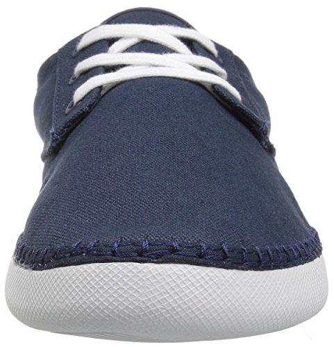 Lacoste Heren L.30 Slide 117 2 Sandaal Mode Sneaker Marine
