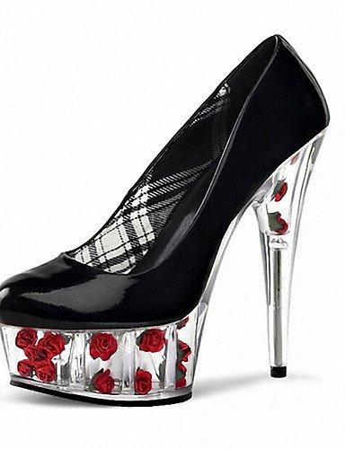 GGX/Damen Heels Heels Patent Leder Hochzeit/Party & Abend/Kleid Stiletto Ferse schwarz/pink/rot/weiß andere red-us10.5 / eu42 / uk8.5 / cn43