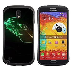 Pulsar iFace Series Tpu silicona Carcasa Funda Case para SAMSUNG Galaxy Note 3 III / N9000 / N9005 , Design Minimalist Colors