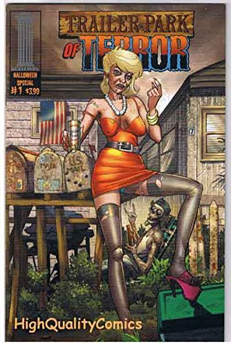 TRAILER PARK OF TERROR #1, VF, Zombies, Halloween, Variant, -