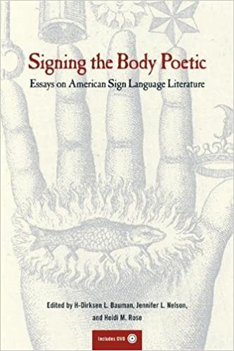 com signing the body poetic essays on american sign  signing the body poetic essays on american sign language literature 1st edition