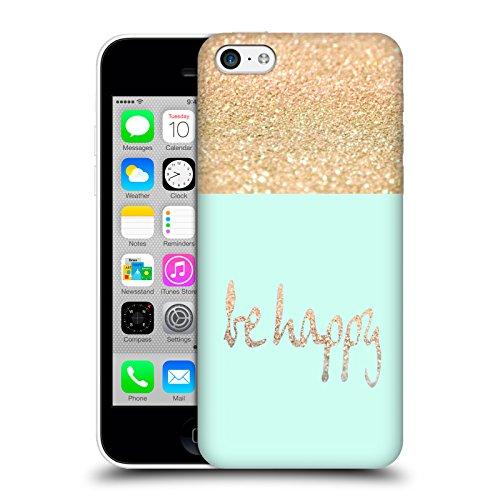 Officiel Monika Strigel Date Or Et Heureux Étui Coque D'Arrière Rigide Pour Apple iPhone 5c