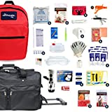 Complete Earthquake Bag - Emergency kit for earthquakes, hurricanes, floods + other disasters (6 person, 3 days)