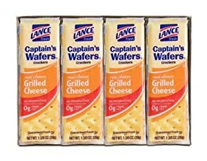 Lance Captain's Wafers Crackers Grilled Cheese - One Box