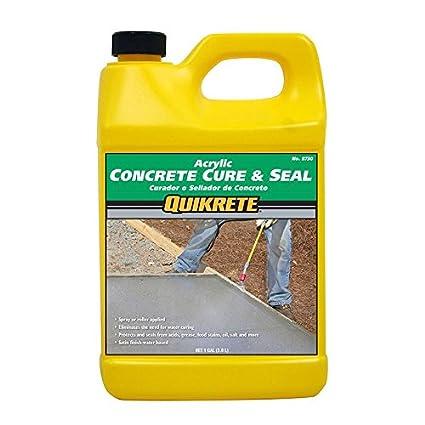 Quikrete Acrylic Concrete Cure & Seal, 1 Gallon, Satin Finish