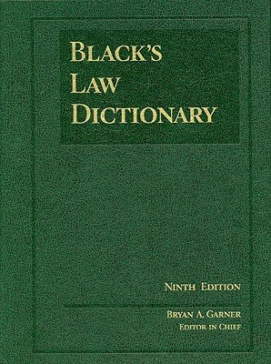 Black's Law Dictionary   [BLACKS LAW DICT 9/E] [Hardcover] PDF